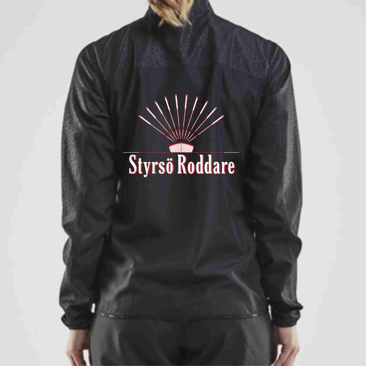 Styrsö Roddare Craft Rush träningsjacka, svart