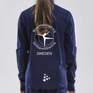 Träningsjacka Craft Progress, Bjuv/Helsingborg Drill, junior