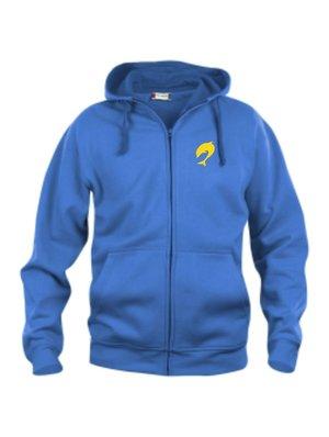 Hoodjacka Basic Full Zip SSDF, blå