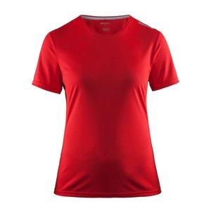 T-shirt Craft Mind SS, dam, röd