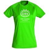 Tränings T-shirt Active-T CISV Helsingborg, grön